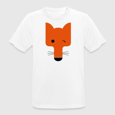 Fox blinking - Men's Breathable T-Shirt
