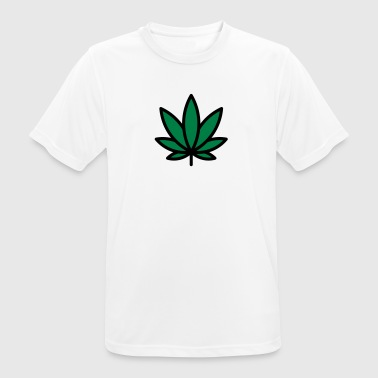 Cannabis leaf - Men's Breathable T-Shirt