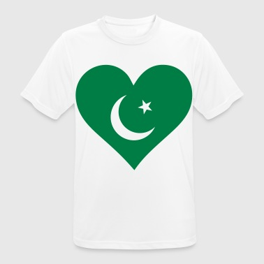 A heart for Pakistan - Men's Breathable T-Shirt