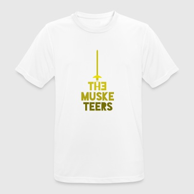 the musketeers - Men's Breathable T-Shirt