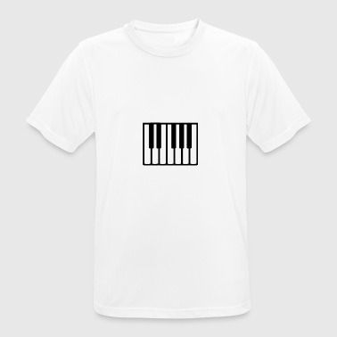 2541614 14991564 piano, - T-shirt respirant Homme