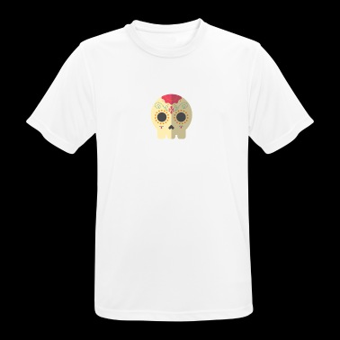 Skull of Mexico - Men's Breathable T-Shirt