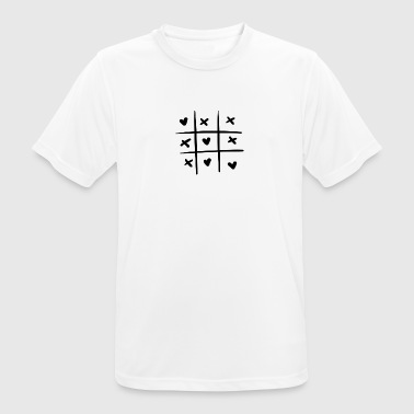 TICTACTOE - Men's Breathable T-Shirt