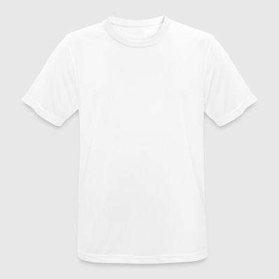 This means treble white print - Men's Breathable T-Shirt
