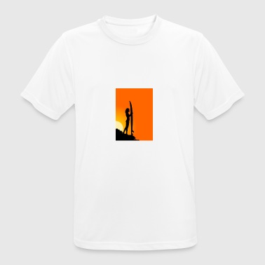 surfer girl - Camiseta hombre transpirable