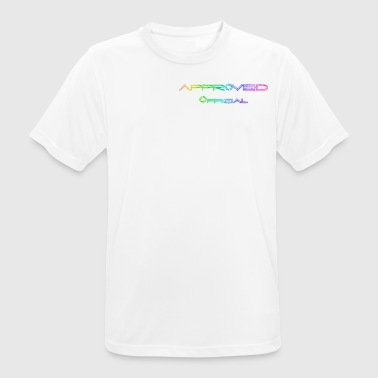OfFiCiAl ApPrOvEd - Herre T-shirt svedtransporterende