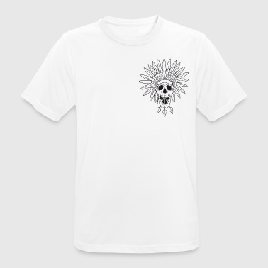 Triad Kings Apache Skull - Men's Breathable T-Shirt