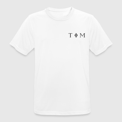 TIM - Time is Money - Men's Breathable T-Shirt
