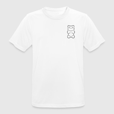 Yummy Bear () - Men's Breathable T-Shirt