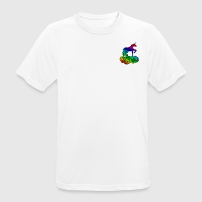 Enchanted Unicorn Multicolored - Men's Breathable T-Shirt