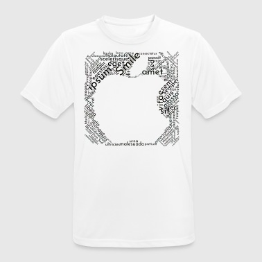 apple - Men's Breathable T-Shirt