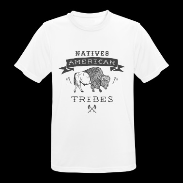 Tribes of the American Indians - Men's Breathable T-Shirt