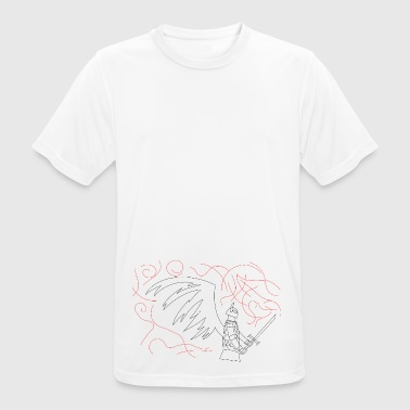Knight angel - Men's Breathable T-Shirt
