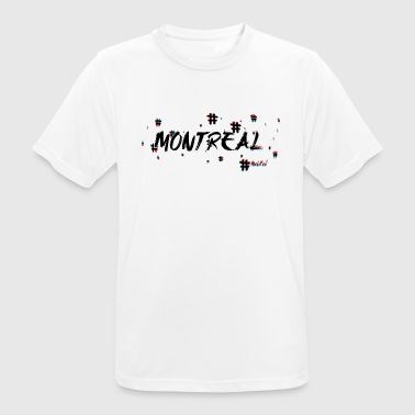 Montreal # 3d - Camiseta hombre transpirable