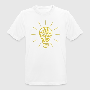 Jah Enlighten Us - Men's Breathable T-Shirt