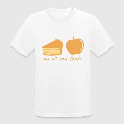 Thanks Giving november Thanksgiving Day Dining - mannen T-shirt ademend