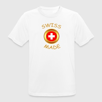 """SWISS MADE"" - T-shirt respirant Homme"