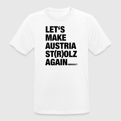 LET'S MAKE AUSTRIA ST (R) OLZ AGAIN - Men's Breathable T-Shirt