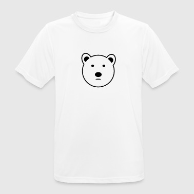 Polar Bear - Men's Breathable T-Shirt
