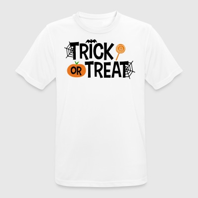 Trick or Treat - Andningsaktiv T-shirt herr