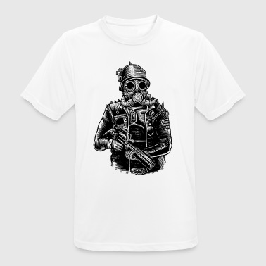 Steampunk Soldier - Men's Breathable T-Shirt