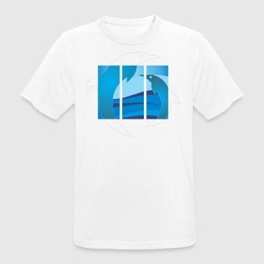 dolphin - Men's Breathable T-Shirt