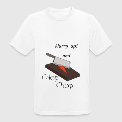 Chop Chop - Men's Breathable T-Shirt