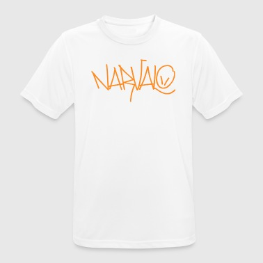 Narvalo orange - Men's Breathable T-Shirt