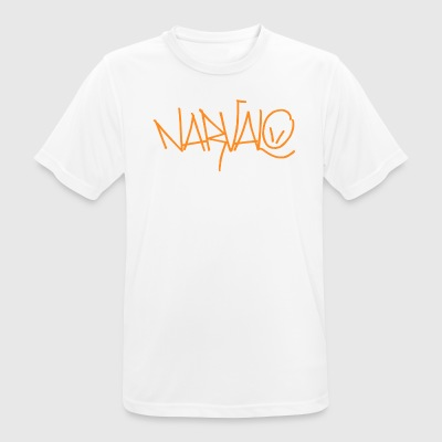 narvalo Orange - Männer T-Shirt atmungsaktiv