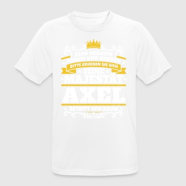 His Majesty Axel - Herre T-shirt svedtransporterende