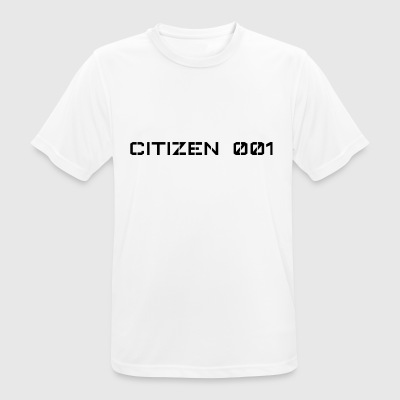 CITIZEN 001 - Men's Breathable T-Shirt