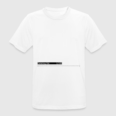 Deleting Fat: Gym, Workout, Fitness - Men's Breathable T-Shirt