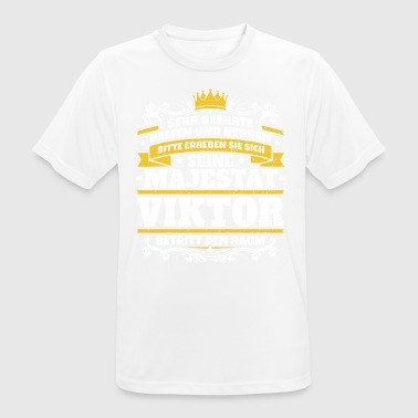 His Majesty Viktor - Men's Breathable T-Shirt