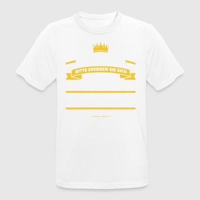 His Majesty Wilhelm - Men's Breathable T-Shirt