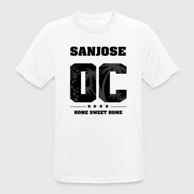 Ik hou van SAN JOSE - Orange County - mannen T-shirt ademend