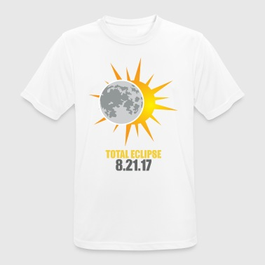 Solar Eclipse 2017 USA - Men's Breathable T-Shirt