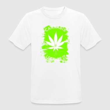 Legalize it Cannabis - Legalization Marijuana THC - Men's Breathable T-Shirt