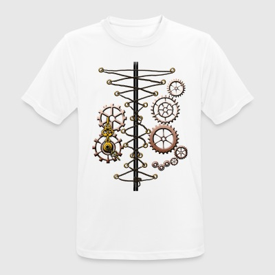 corset and cogs - Men's Breathable T-Shirt