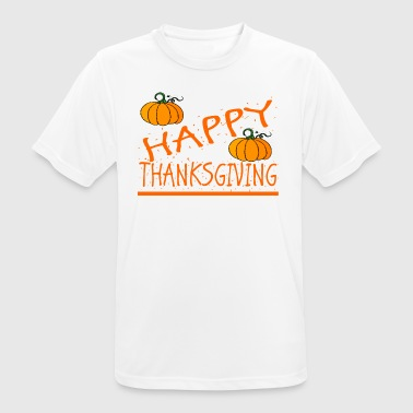 happy thanksgiving the thank you shirt - Men's Breathable T-Shirt