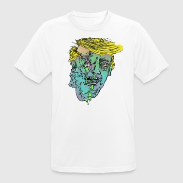 Trump Zombie - T-shirt respirant Homme