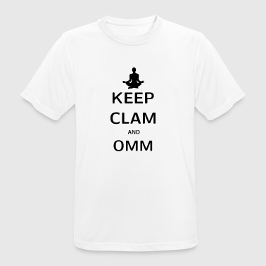 KEPP CLAM AND OMM - Men's Breathable T-Shirt