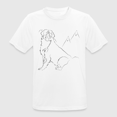 Bouvier Bernois - Men's Breathable T-Shirt