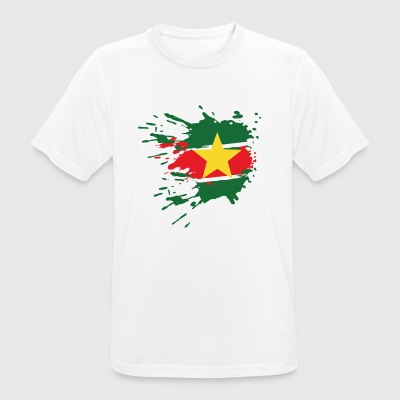 Suriname flag - Men's Breathable T-Shirt