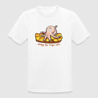 Living the pulpo life - Camiseta hombre transpirable