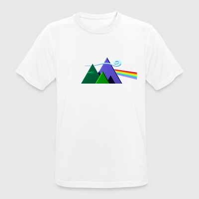 Dark Side Of The Mountains - Männer T-Shirt atmungsaktiv