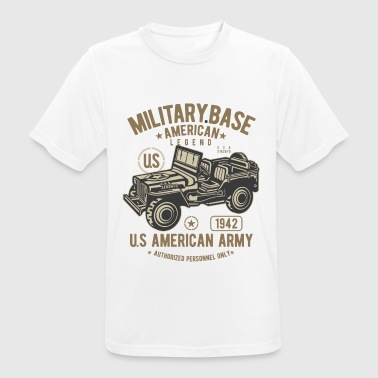 MILITARY OFFROAD JEEP - US Army Jeep Shirt Design - Men's Breathable T-Shirt