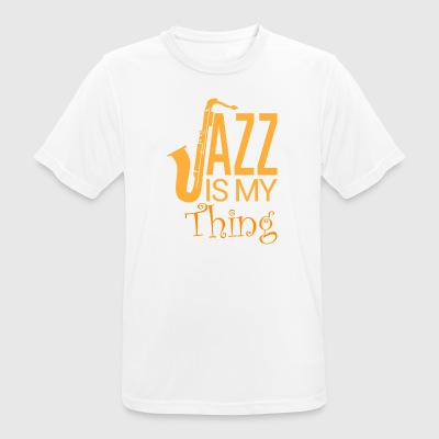 Jazz - My Passion - Herre T-shirt svedtransporterende