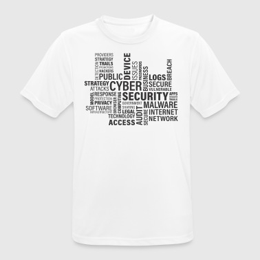Cyber ​​Security - Men's Breathable T-Shirt