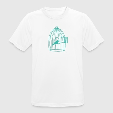 Caged Bird - Men's Breathable T-Shirt
