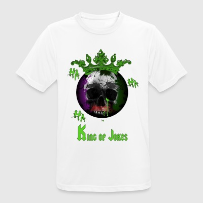 KING OF JOKES - mannen T-shirt ademend